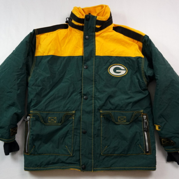 Champion Other - VTG Champion Green Bay Packers Winter Jacket Large 502916bbb